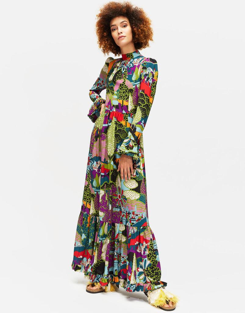 Paesaggio Visconti Dress