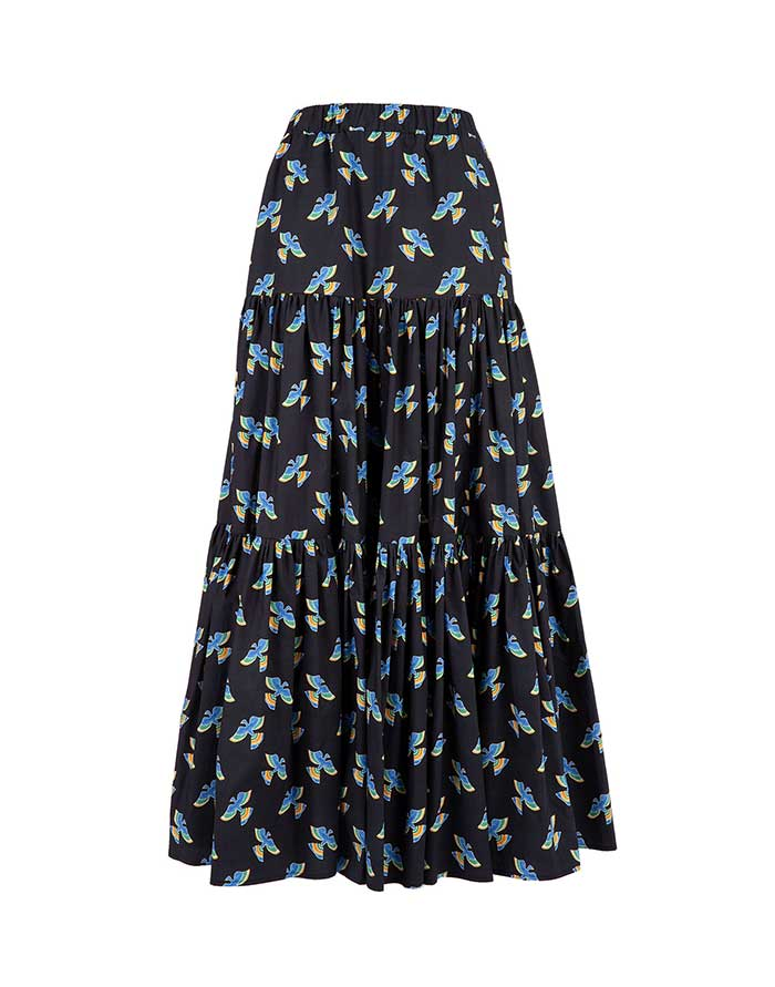 Big Skirt - Flying Colombo in Cotton