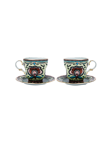 The Big Mama Cup And Saucer Set Of 2