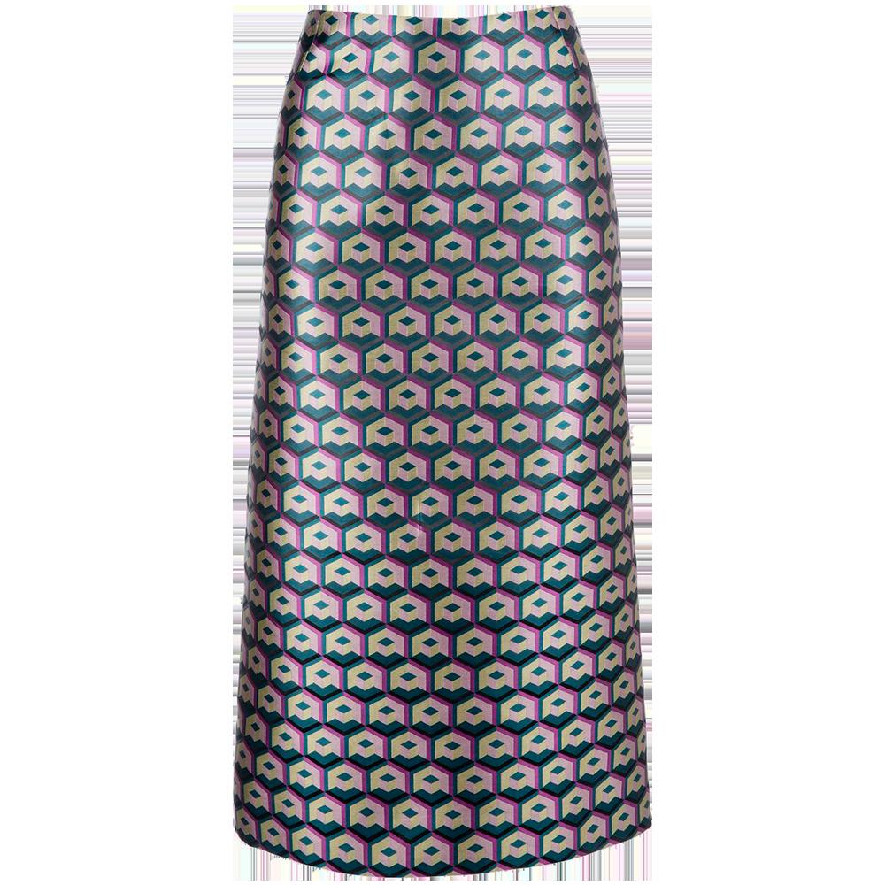 Cubi Verdi Pencil Skirt
